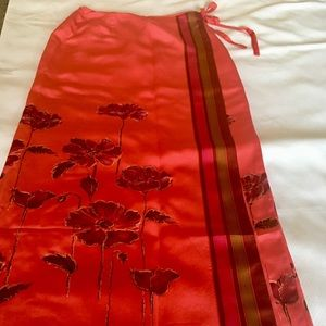 Muse Silk Wrap Skirt